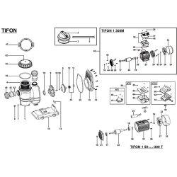 Joint de couvercle de pompe Tifon de Espa