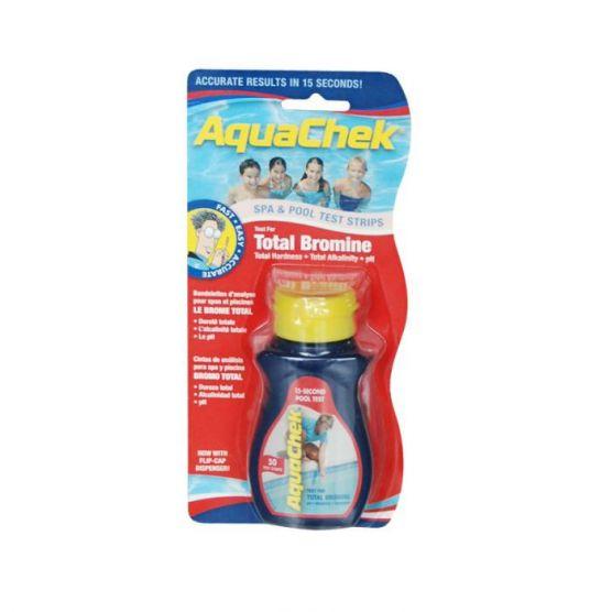 Aquacheck Rouge  Brome total/PH/TAC/TH