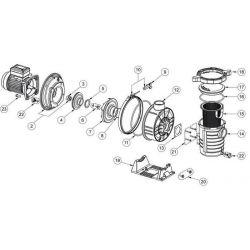 N°2 - Plateau d'assemblage de garniture mécanique Ultra flow