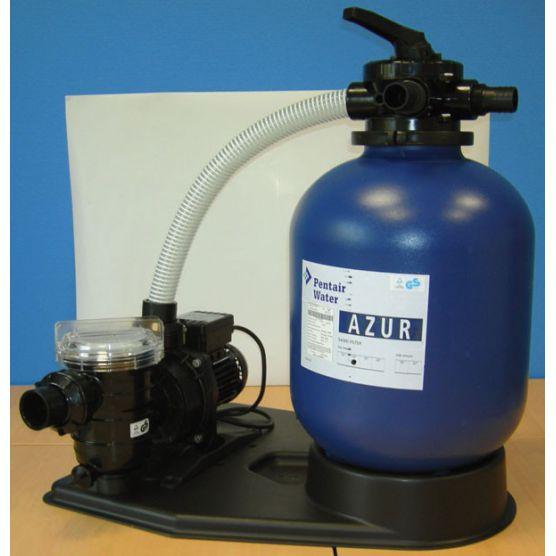Kit Filtration à sable Azur Pentair 5m3/h