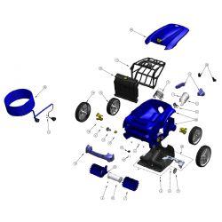 Carte clavier robot Zodiac Vortex 4
